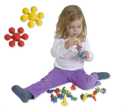 Edushape Ez-Grip Tiny Stars - 80 Piece Set