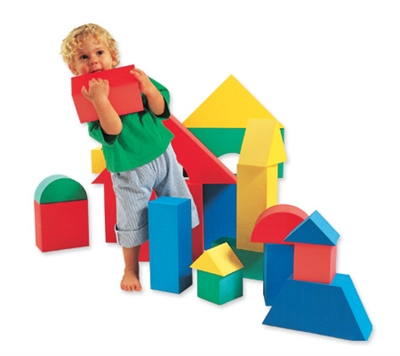 Edushape Giant Blocks - 16 Piece Set
