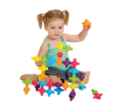 Edushape Kiddy Connects - 72 Piece Set