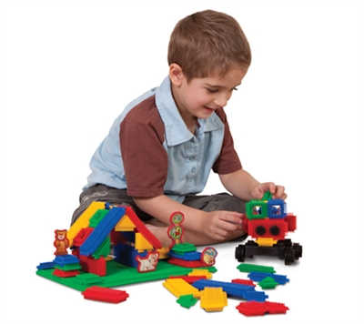 Edushape Magic Brix-Jumbo Pack 140 Piece Set - Free Shipping