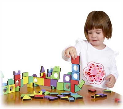 Edushape Magic Shapes - 81 Piece Set
