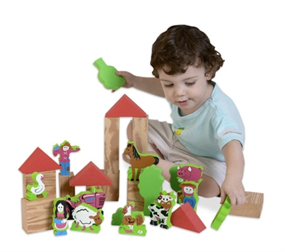 Edushape My Soft World - Farm - Free Shipping