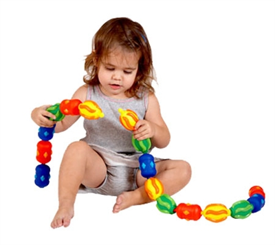Edushape Original Snap Beads - Free Shipping