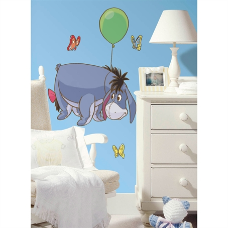 Eeyore Peel & Stick Giant Wall Decal