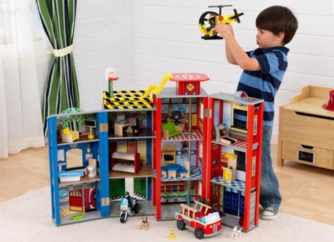 KidKraft Everyday Heroes Police & Fire Set - Out of Stock