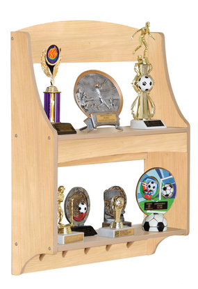 Expressions Natural Trophy Rack - Free Shipping