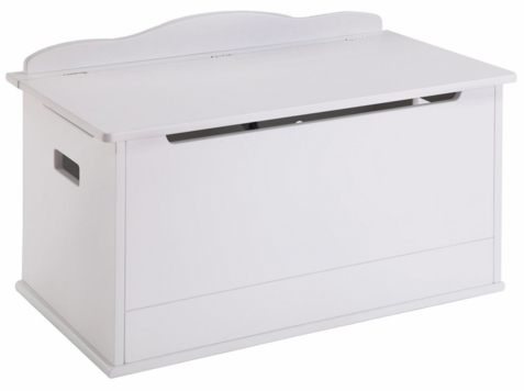 Expressions Toy Box White