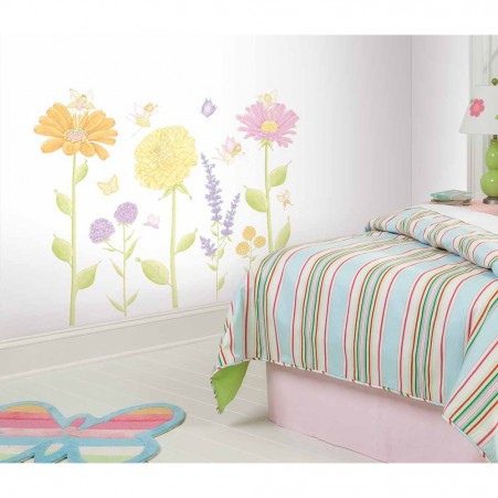 Fairy Garden Peel & Stick Wall Decals - Free Shipping