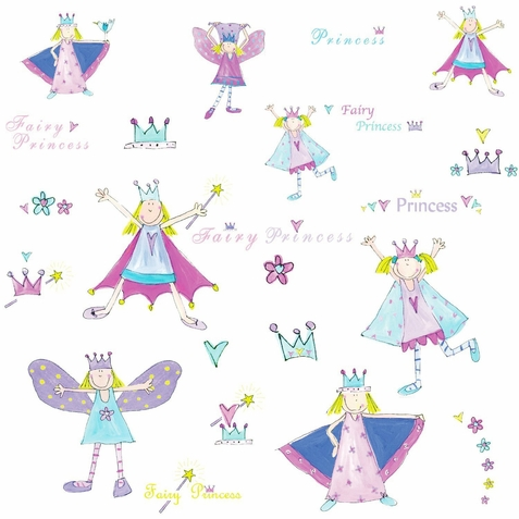 Fairy Princess Peel & Stick Applique