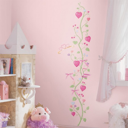 Fairy Princess Peel & Stick Growth Chart