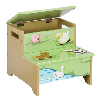 Farm Friends Storage Step Up - Free Shipping