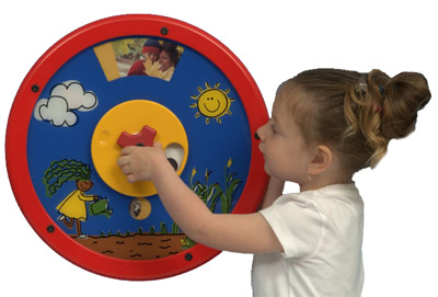 Farm to Plate Round Wall Toy