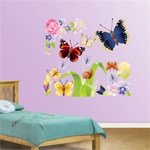 Fathead Butterflies Decal Group One