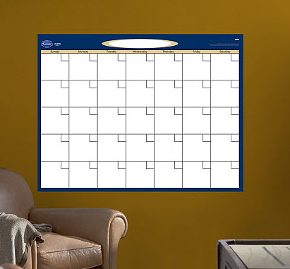 Fathead Large Dry Erase Blank Month Calendar - Out of Stock
