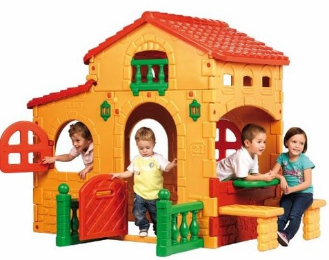 ECR4Kids Feber Big House Playhouse