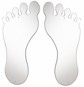 Whitney Brothers Feet Mirror Set