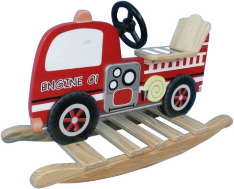 Fire Engine Rocking Toy