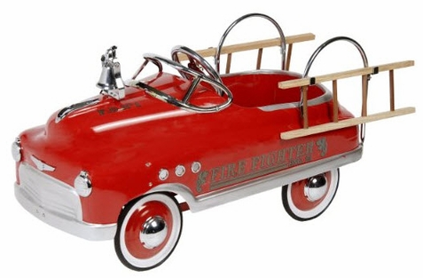 Fire Fighter Comet Sedan Pedal Car