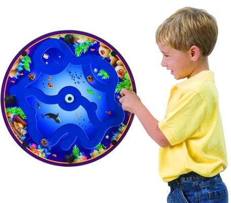 Fishin A-Round Wall Toy