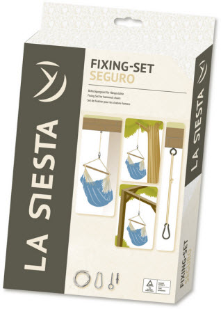La Siesta Home Rope Fixing Set For Hammock Chairs