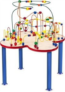 Anatex Fleur Rollercoaster Bead Toy Table