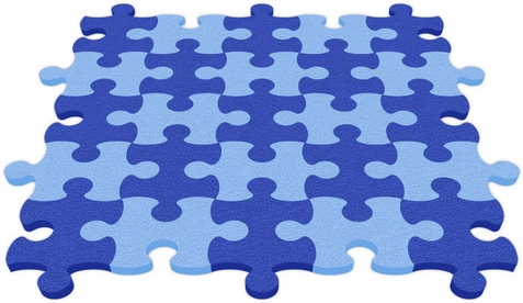 Flip Flop Foam Interlocking Puzzle Mats