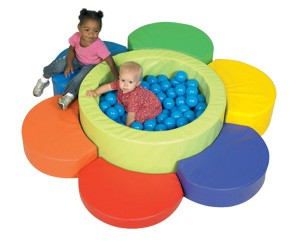 Flower Petal Soft Play Ball Pool