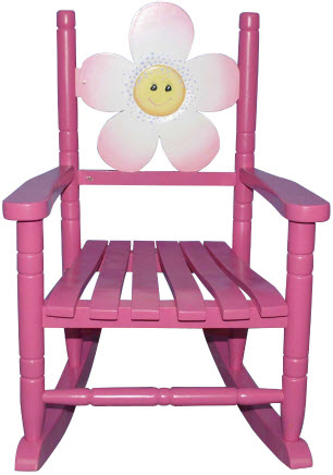 Flower Rocking Chair