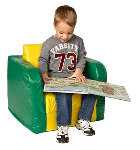 Foamnasium Pull Out Vinyl Covered Foam Chair