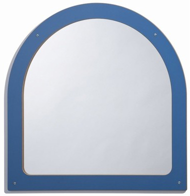 Whitney Brothers Framed Arch Mirror