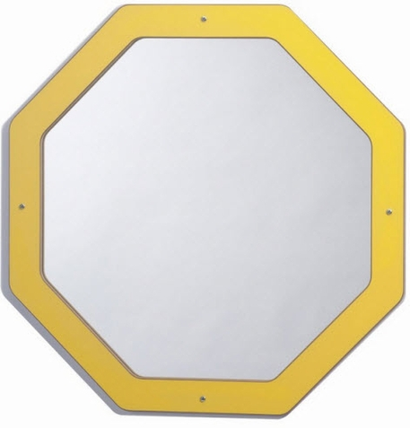 Whitney Brothers Framed Octagon Mirror