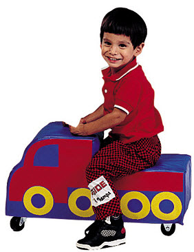 Freight Truck Roll Around Ride On Toy