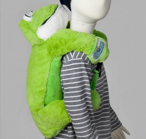 Frog Luggable Backpack