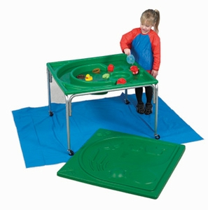 Frog Pond Sand & Water Table and Lid Set