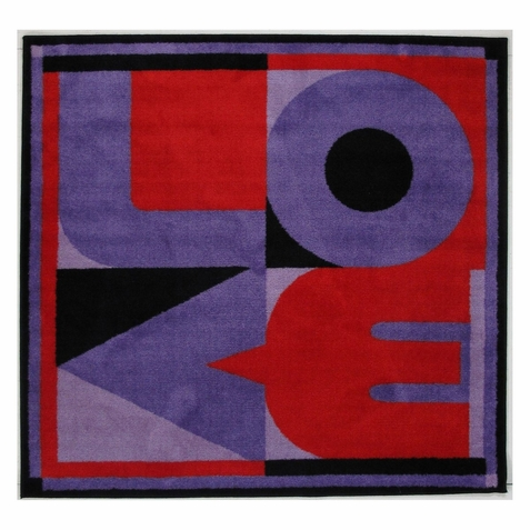 Fun Time Shape Love Area Rug