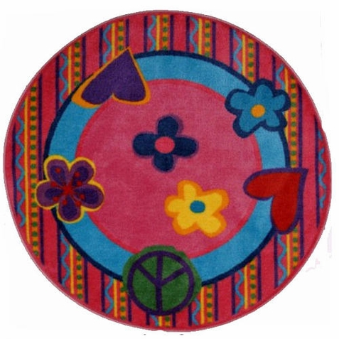 Fun Time SPeace Out Area Rug - Free Shipping