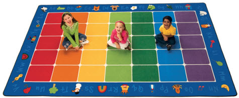 Fun with Phonics Classroom Rug 7'6 x 12'