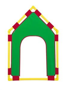 "Gable Door PlayPanel 31"" x 48"" - 4 Color Choices"