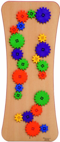 Gear Galore Loco Motion Wall Panel Toy
