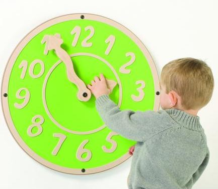 Giant Clock Wall Toy