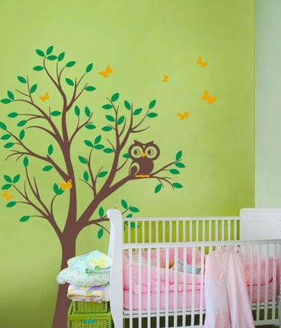 Giant Colorful Tree Wall Decal