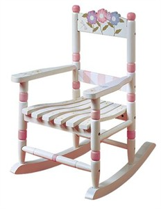 Girl's Bouquet Rocking Chair
