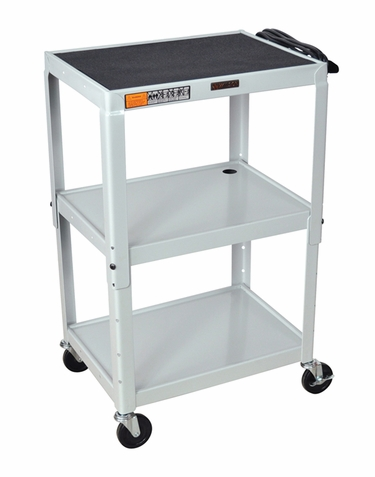Gray Adjustable Utility Cart