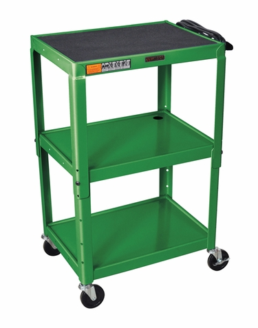 Green Adjustable Utility Cart