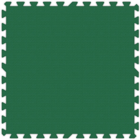 Green Foam Interlocking Tiles