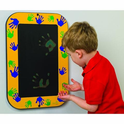 Green or Yellow Hands-On Magic Wall Toy