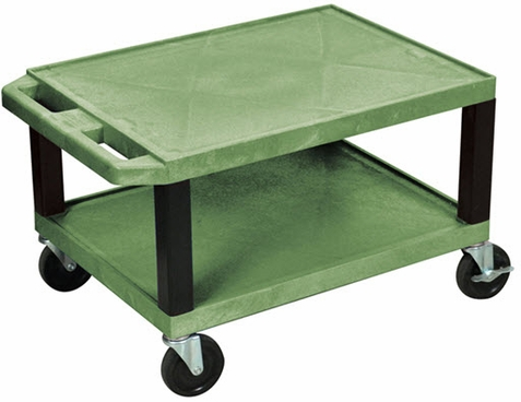 Green Tuffy Short Utility Cart