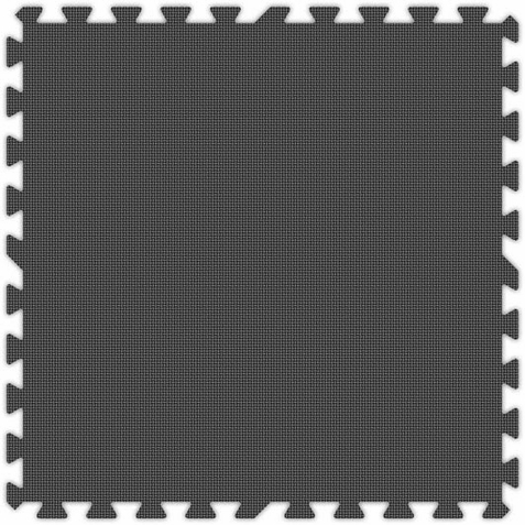 Grey Foam Premium Interlocking Squares - Free Shipping