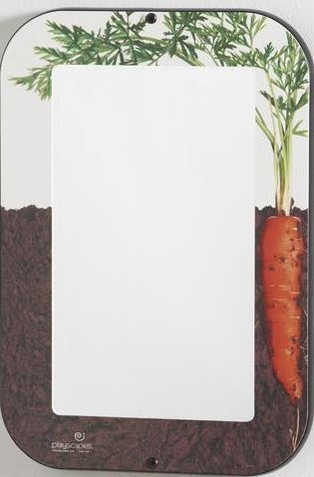 Growing Carrot Acrylic Wall Mirror