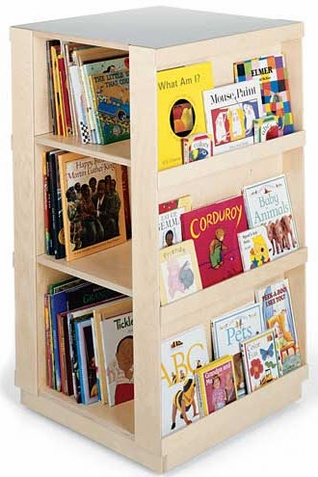 4-Sided Library Book Storage